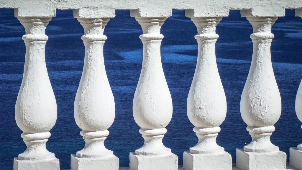 blau weißes Korfu II