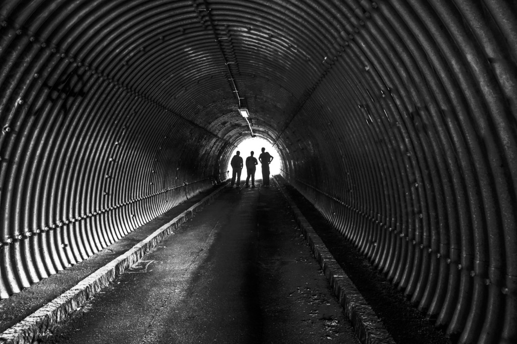 Inglourious Wanderers am Ende des Tunnels