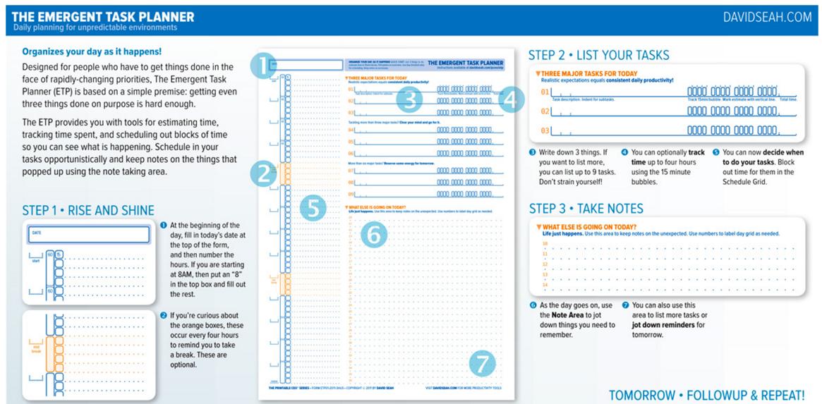 emergant task planner